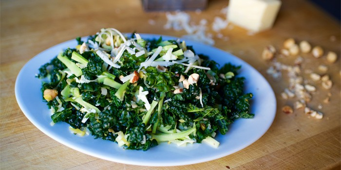 RECIPE – Kale & Broccoli Matchstick Salad