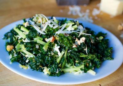 Kale & Broccoli Matchstick Salad